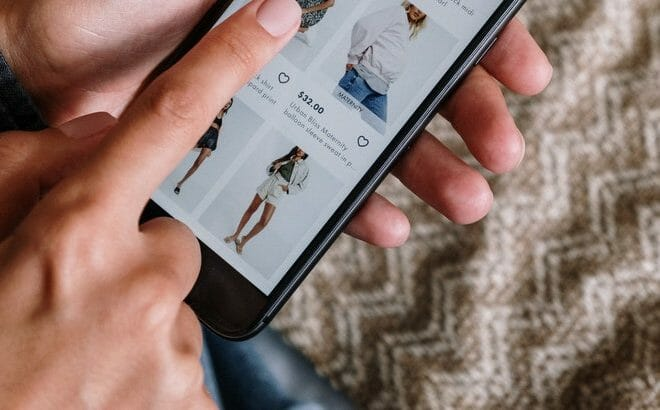 application boutique en ligne